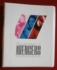 THE WOMEN OF THE AVENGERS all 54 Base Cards + Official Trading Card Binder