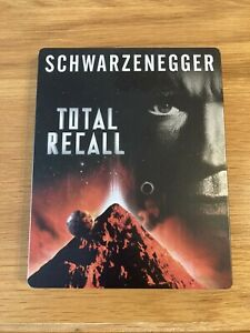 Total Recall Blu Ray + DVD Ultimate Edition Steelbook
