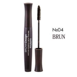 Bourjois Brow Design Mascara 6ml New & Sealed - 04 BRUN