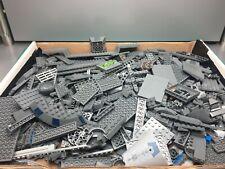 LEGO Bulk Bricks, Pieces, Parts Lot - Dark/Light Bluish Gray - over 4 pounds!