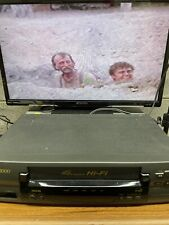 SV2000 SVB106AT21 VCR 4 Head HiFi VHS Video Cassette Recorder NO remote Works