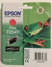 original epson T0547 Rot Red Tintenpatronen Epson Stylus Photo R800 R1800