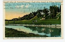 Golf Course—Petoskey & Bay View Country Club—Rare Antique Golfing 1920s