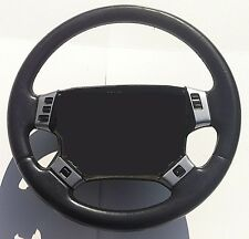 RANGE ROVER P38 / P38A STEERING WHEEL TRIMS (7 BUTTON)- BRUSHED ALUMINIUM STYLE