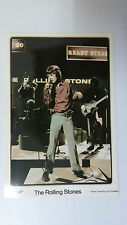 The Rolling Stones Mick Jagger group vintage music postcard POST CARD 3