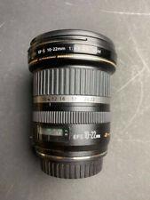Canon EF-S 10-22mm f/3.5-4.5 USM AF Lens for APS-C DSLR ULTRA WIDE ZOOM PERFECT