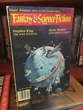 Stephen King Gunslinger Magazine Fantasy Science Fiction April 1980