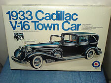 1933 CADILLAC V-16 TOWN CAR MADE BY ENTEX NEW IN WRAPPED UNOPENED BOX 1:16 SCALE