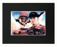 Giclee Art Prints by Willie Jones Jr. Legendary NASCAR Driver Dale Earnhardt Sr