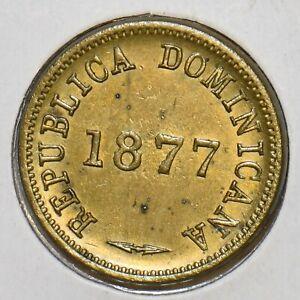 Dominican Republic 1877 Centavo D0098 combine shipping