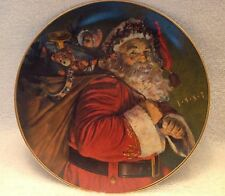 The Magic That Santa Brings,Avon,Christmas,Lim ited Edition,1987,Collector Plate