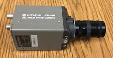 Hitachi KP-140 CCTV Camera All Solid State DC 12V 300mA with Lenses