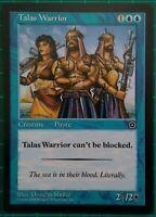 1X MTG MAGIC THE GATHERING TALAS WARRIOR PORTAL SECOND AGE BLUE CREATURE RARE NM
