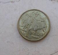 1 Dollaro Australiano Elisabetta II 1984 tipo 5 CANGURI -  n  987