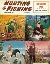 Hunting and Fishing--Sept. 1952-----387