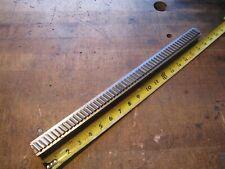Hensley 1116 W X 18 L Carbide Slant Tooth Machine Keyway Broach 0969 1070