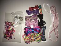 Bracelet Making Threads, Charms, and Beads