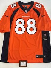 NIKE MENS LARGE ON FIELD NFL DEMARYIUS THOMAS DENVER BRONCOS STITCHED JERSEY