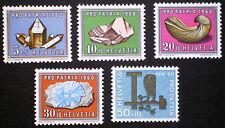SWITZERLAND SUISSE 1960 MNH** Pro Patria complete set