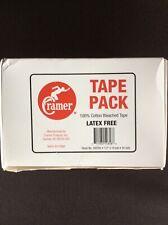 """Cramer 1/2"""" x 10 yds White Tape Pack 24 Rolls"""