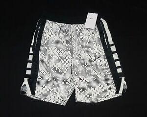 Nike Elite Basketball Shorts Boys Youth  BLack/White DJ0656-100 size XLarge