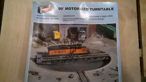WALTHERS  MOTORIZED 90' TURNTABLE KIT 933-3135
