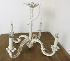 Beautiful antique style brass Chandelier by Dernier and Hamlyn shabby chic