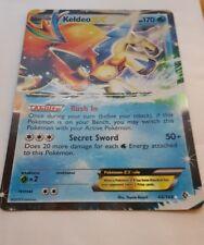 POKEMON PROMO CARD - JUMBO/OVERSIZED KELDEO EX 49/149 -20cm X 14cm!!!