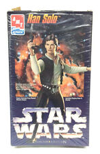 Star Wars AMT Vinyl Model Han Solo Vintage 1995 Includes Display Base Blaster