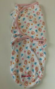 Swaddle me orginal swaddle wrap size small owl & bird design