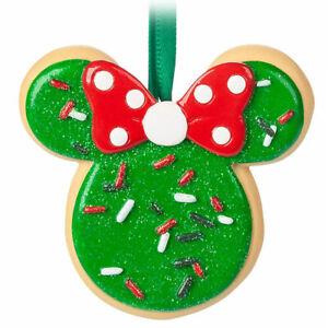 Disney Parks Snack Ornament - Minnie Mouse Sugar Cookie