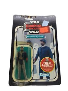 Vintage Kenner Star Wars ESB Fuzzy Bespin Security Guard 47 Back MOC