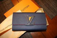 Authentic Louis Vuitton Capucines Wallet