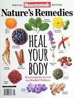 NATURE'S REMEDIES HEAL NEWSWEEK MAGAZINE SPECIAL EDITION YOUR BODY FREE SHIPPING