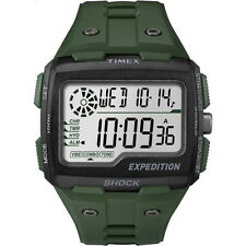 Timex TW4B02600 Mens Expedition Digital Shock Green Chrono Watch