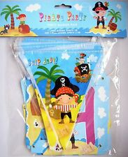 Pirate Party Banner Pack Bunting Garland Boys Birthday Home Hanging Decoration