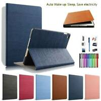 For iPad 2 3 4 5th/6th/Air/Mini/Pro 11 10.2 2019 Leather Smart Stand Case Cover