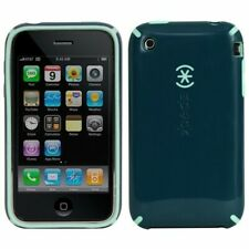 COQUE iPHONE 3G 3GS SPECK CANDY SHELL VERT SILICONE RIGIDE (TPU) + 1 FILM OFFERT