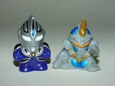 SD Ultraman Agul vs Algeuroth Mini Figures! Godzilla Gamera