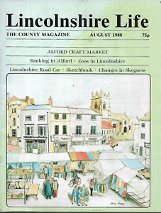 Alford illustrated local history Lincolnshire Life Aug 1988 Banks Markets etc