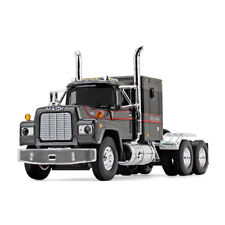 2017 FIRST GEAR 1:64 *MACK R w/SLEEPER* SILVER BLACK & RED SEMI works w/DCP NIB