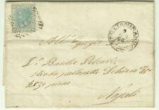 GG804-CAMPANIA,MIRABELLA (ECLANO),NUMERALE A PUNTI PER NAPOLI,GROTTAMINARDA,1868
