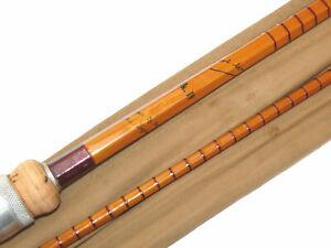 "B James & Son, London, England Richard Walker Mk1V split cane carp rod, 10'2""..."