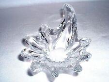 Signierte Kristallschale DAUM France Muschelform