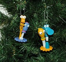 Handy Manny Felipe, Pat,Rusty and Turner Christmas Ornament Set
