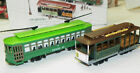 HO-Scale Classic Streetcars Powell & Mason Cable Car & Desire St. Trolleys New