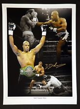 *New* Daniel Dubois Hand Signed 12x16 Boxing Montage