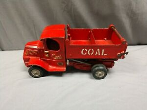 1920's Arcade Cast Iron, Mack Coal Dump Truck with Original Sticker. NICE!!!!!