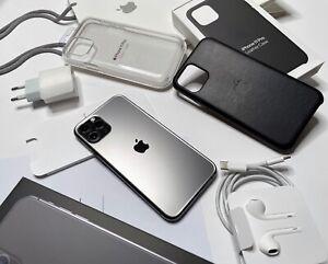 Apple iPhone 11 Pro - 64Go - Gris sidéral + 2 coques Apple Officielles