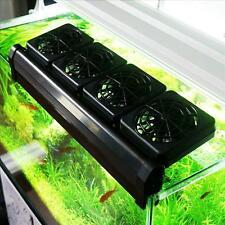 Aquarium Cooling Fan Fish Tank Accessories Fans Control Temperature Water Part